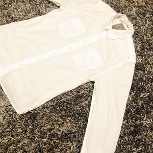 White Guess Casual Shirt